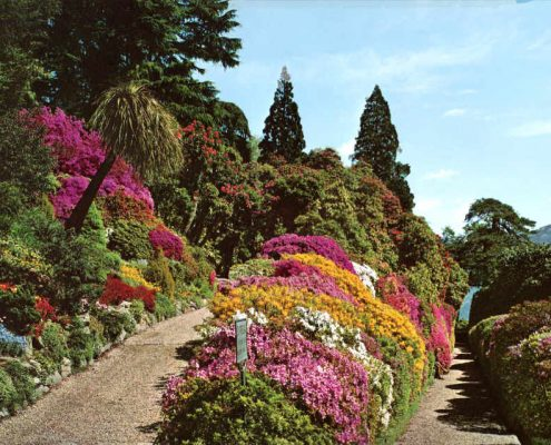 Tuin Villa Carlotta aan het Comomeer